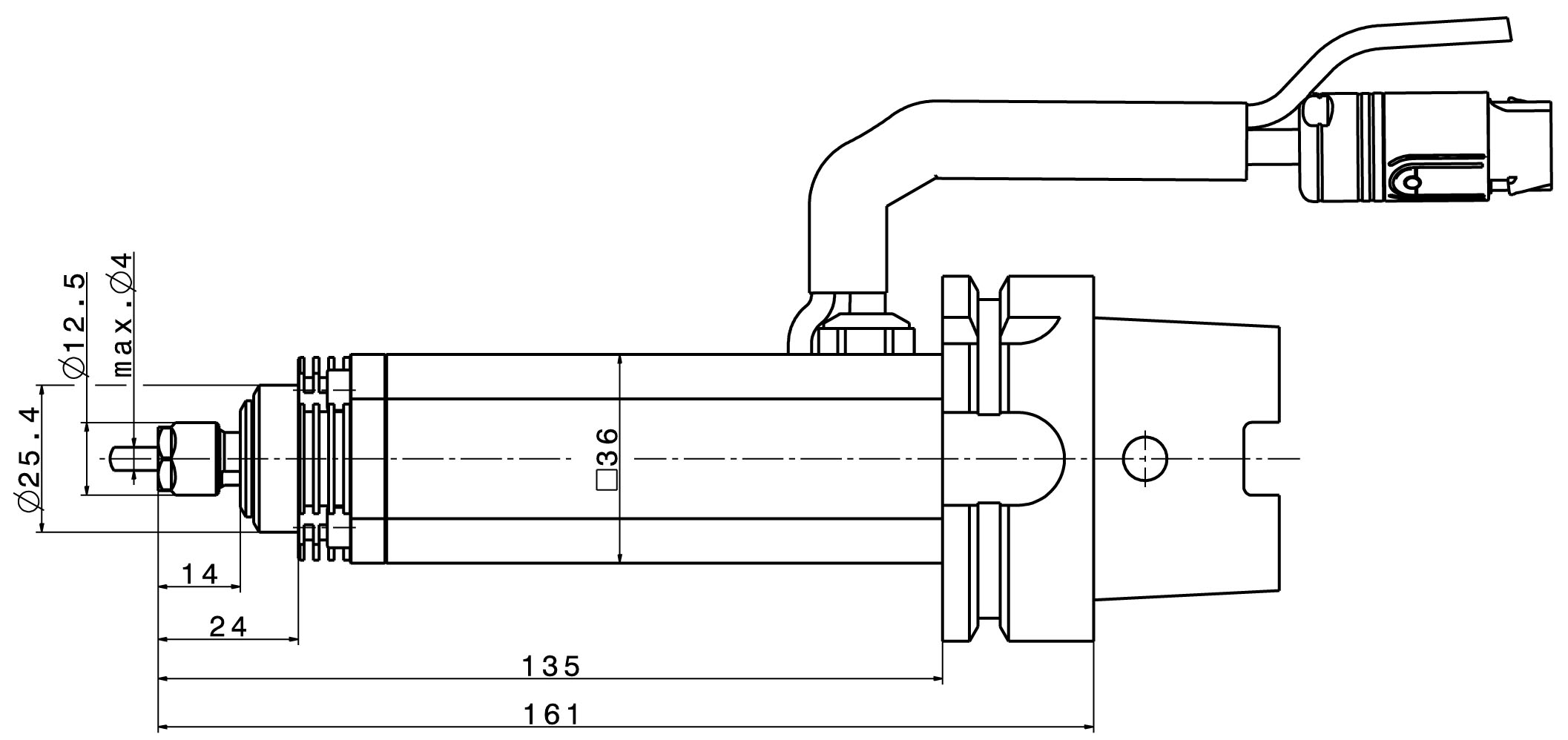 Type 4010 dimensions