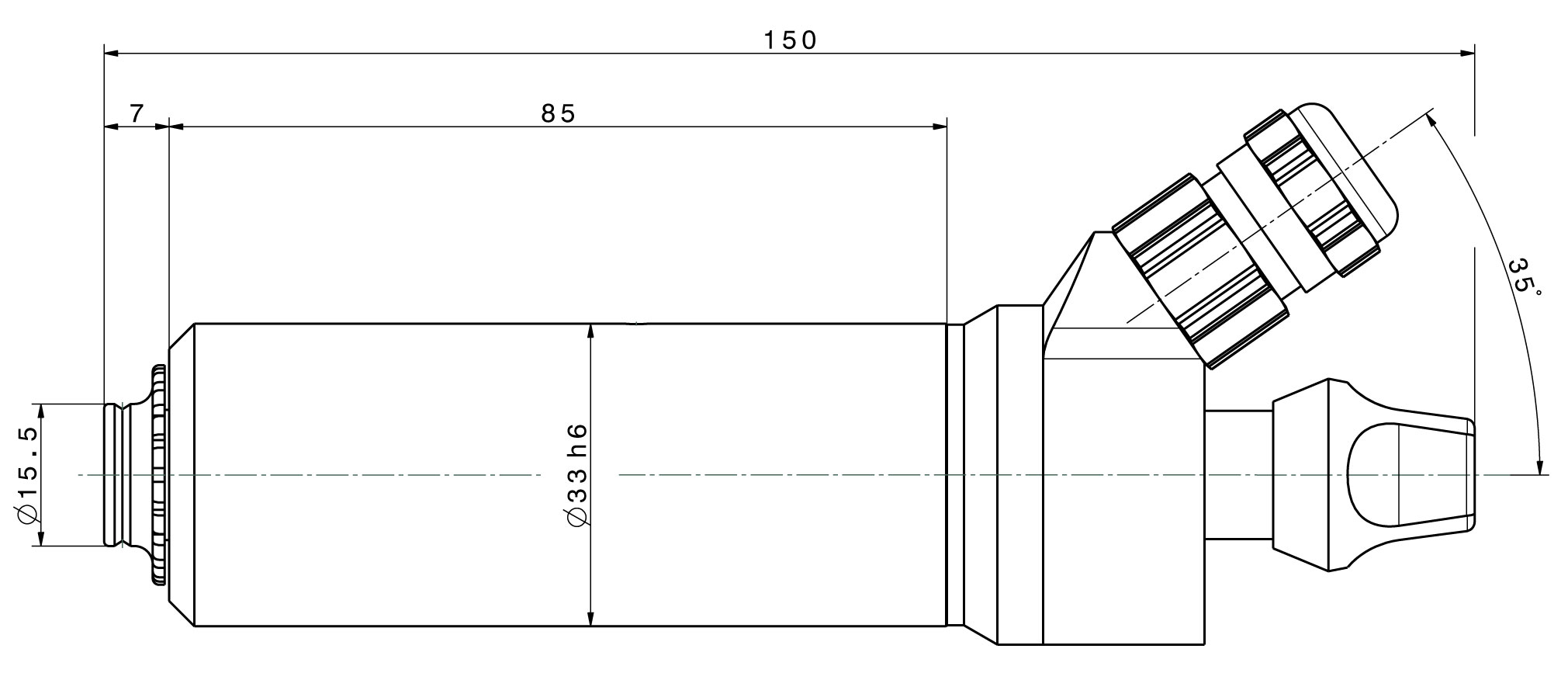 Type 4025 DC-S dimensions