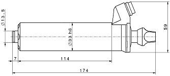 Type 4025 dimensions