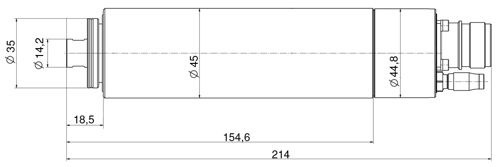 Type 4040 DC-S dimensions