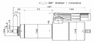 4036 DC T Dimensions