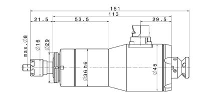 4036 DC-T-ER11-F dimensions