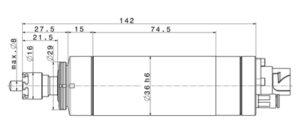 4036 DC-T-ER11 dimensions